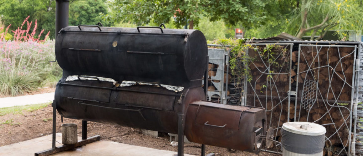 BBQ-Smoker aus Texas